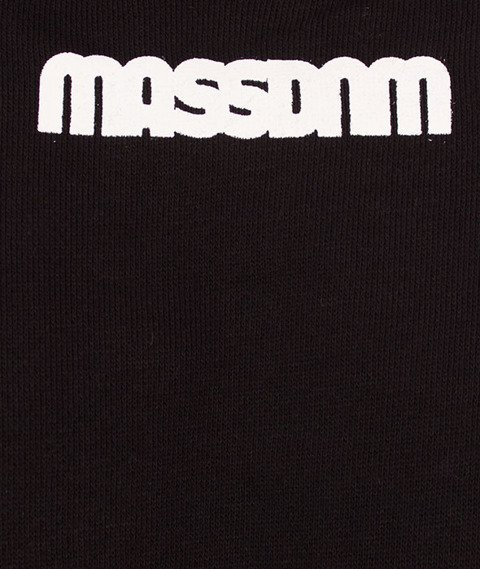 Mass-Do Not Cross Crewneck Bluza Czarna/Multikolor