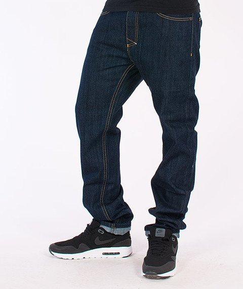 Mass-Dope Tapered Fit Jeans Rinse Blue