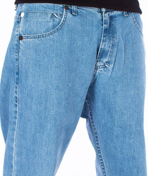 Mass-Dripline Regular Fit Jeans Light Blue