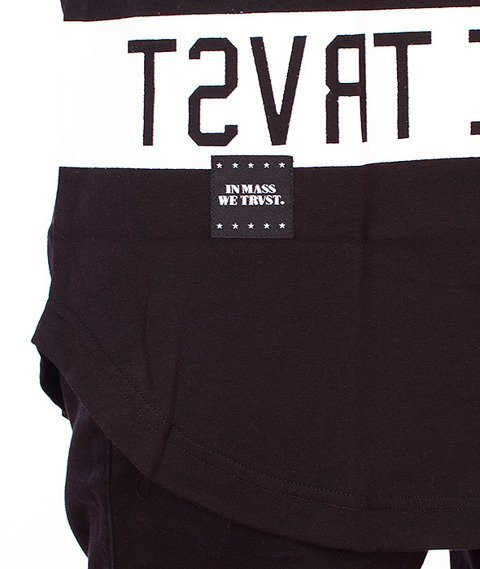 Mass-Dyme Long T-shirt Czarny
