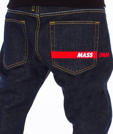 Mass-Flip Tapered Fit Jeans Spodnie Dark Blue
