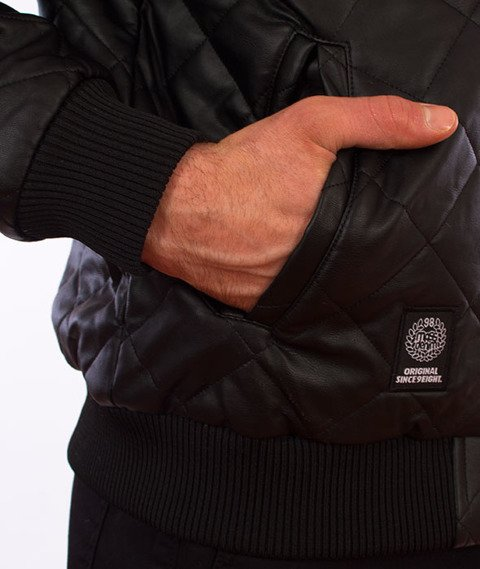 Mass-Flyer Quilted Jacket Kurtka Czarna