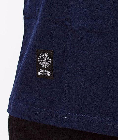 Mass-Horizon T-Shirt Biały/Stalowy Niebieski