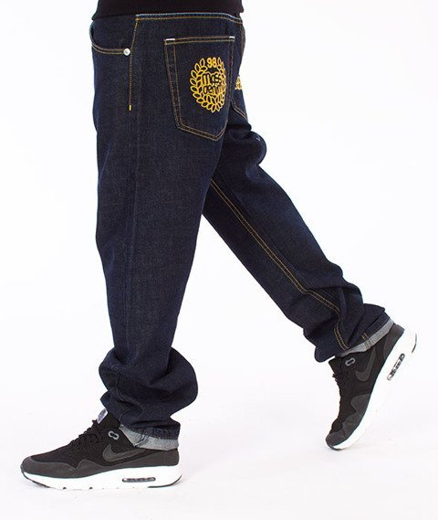 Mass-Legendary Straight Fit Jeans Rinse Blue