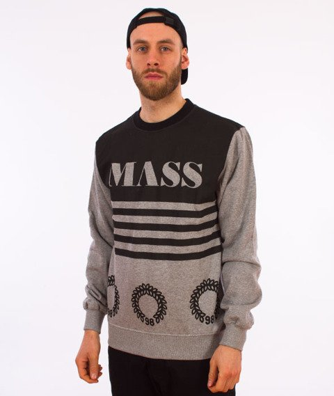 Mass-Level Crewneck Bluza Szara
