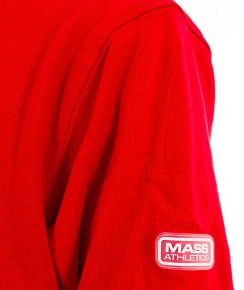 Mass-Meeting Bluza Kaptur Red