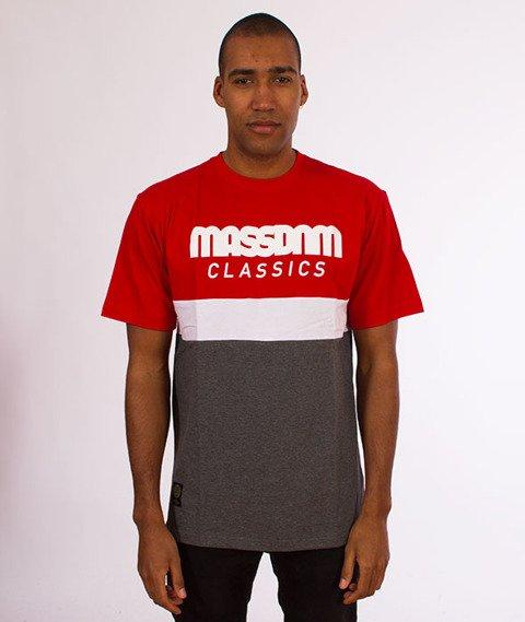 Mass-Respect T-Shirt Red/Dark Grey