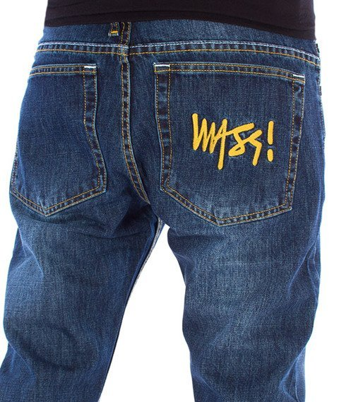 Mass SIGNATURE Jeans Tapered Fit Dark Blue