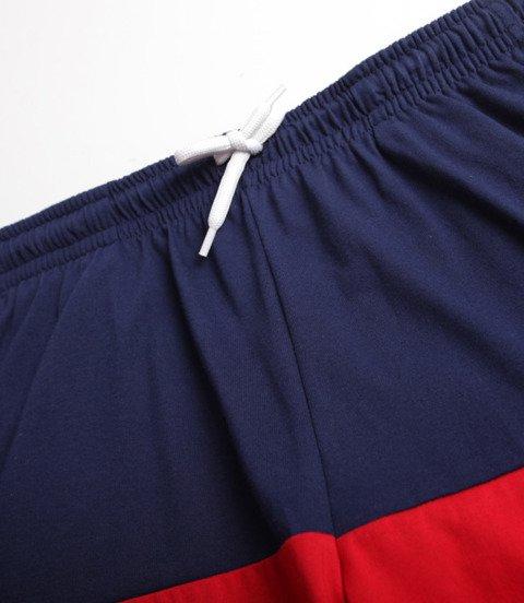 Mass Separate Spodnie Krótkie Granatowy/ Czerwony