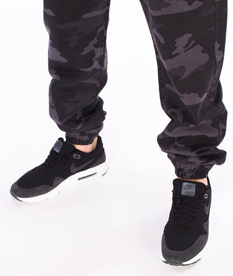 Mass-Signature Sneakers Fit Jogger Camo/Black