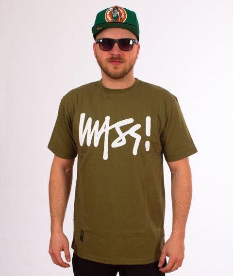 Mass-Signature T-shirt Khaki