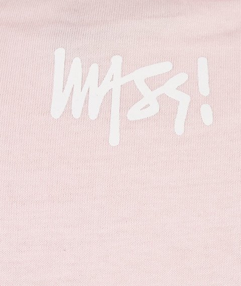 Mass-Signature T-shirt Różowy