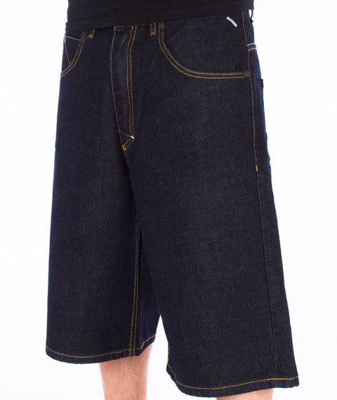 Mass-Slang Shorts Baggy Dark Blue