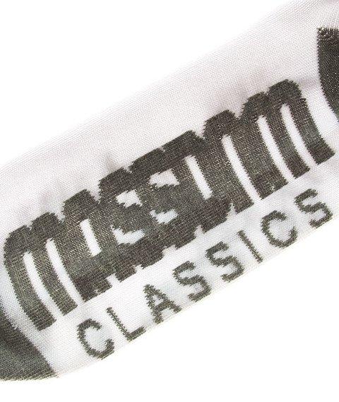 Mass-Socks Classics Skarpetki Białe