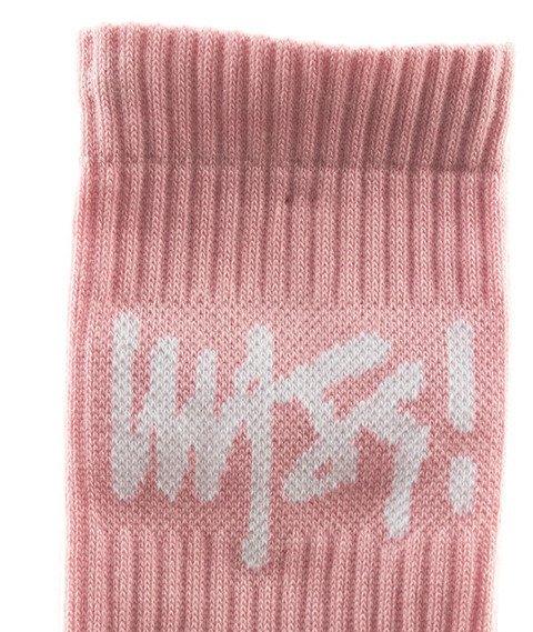 Mass-Socks Signature 2018 Skarpetki Różowe