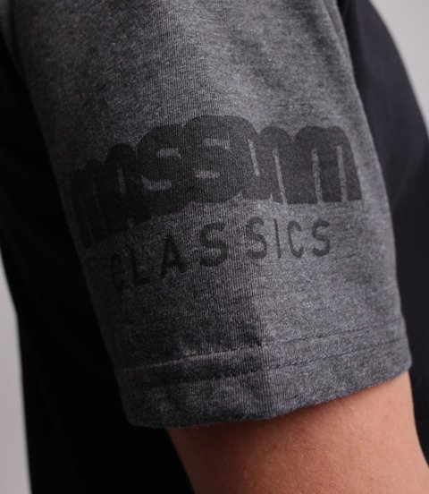 Mass Triple T-Shirt Czarny