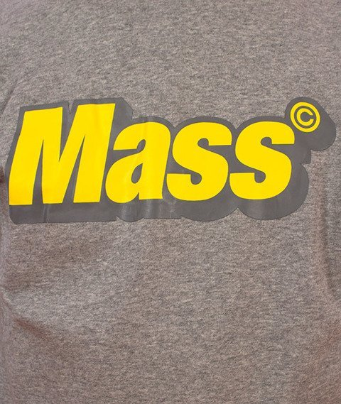 Mass-Work Crewneck Bluza Szara
