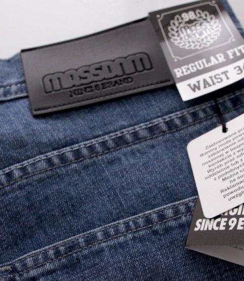 Mass-spodnie Jeans Base Regular Fit Blue