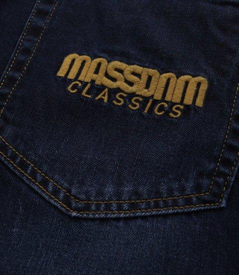 Mass-spodnie Jeans Classic Straight Fit Dark Blue