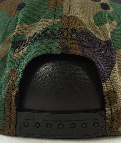 Mitchell & Ness-2 Tone Label Box Logo Snapback Camo NE18Z