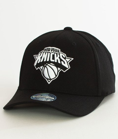 Mitchell & Ness-Black & White 110 SB New York Knicks Snapback EU1033