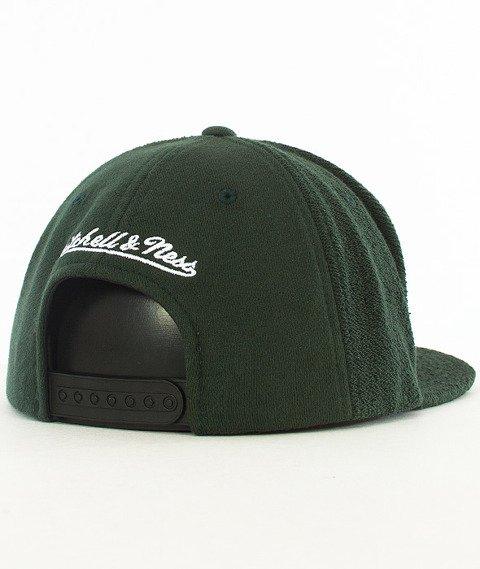 Mitchell & Ness-Boston Celtics Snapback Czapka VV32Z Zielona