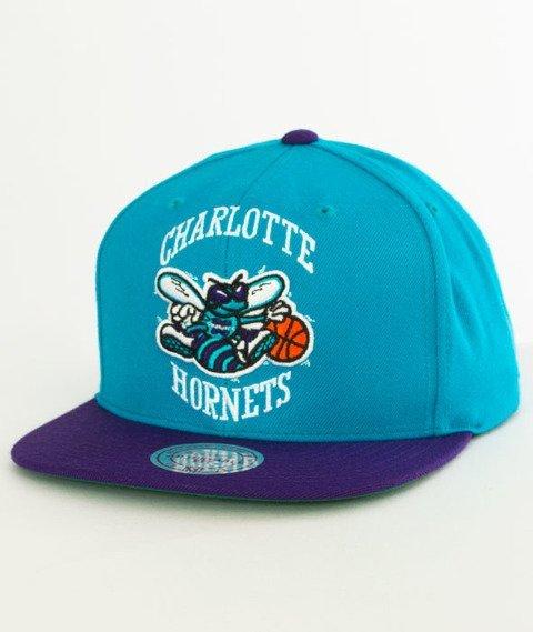 Mitchell & Ness-Charlotte Hornets XL Logo Two Tone NJ16Z