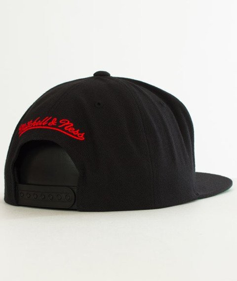 Mitchell & Ness-Chicago Bulls Solid Team Snapback NZ979 Black