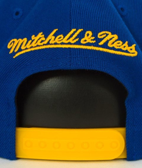 Mitchell & Ness-Golden State Warriors XL Logo Two Tone NM04Z