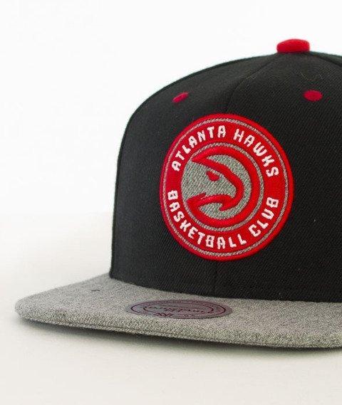 Mitchell & Ness-Greytist Atlanta Hawks Snapback EU938 Czarny/Szary