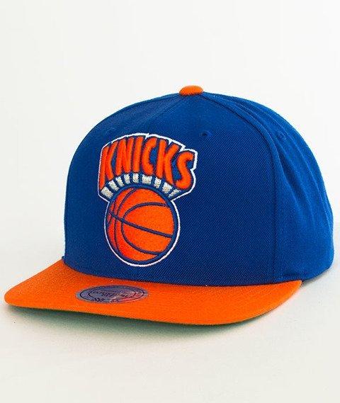 Mitchell & Ness-New York Knicks XL Logo Two Tone NJ16Z