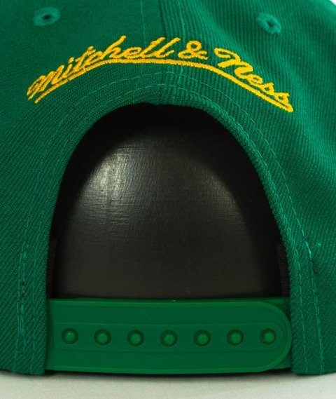 Mitchell & Ness-Seattle SuperSonics Solid Team Snapback NZ979