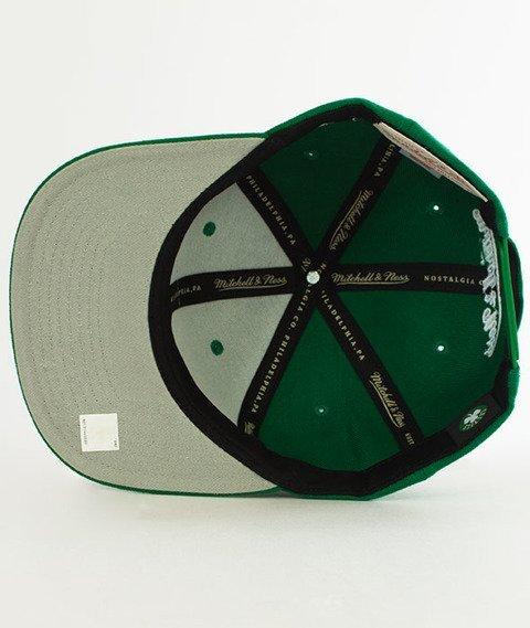 Mitchell & Ness-Silicon Grass BH72HT Boston Celtics Snapback