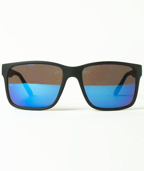 Moro Sport-Arnold Okulary Przeciwsłoneczne Czarne/Niebieskie
