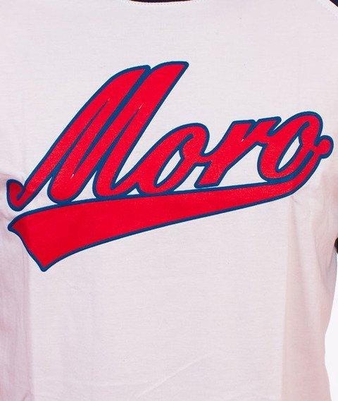Moro Sport-Baseball Academic T-Shirt Biały/Granatowy