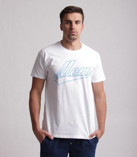 Moro Sport Baseball T-Shirt Biały