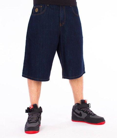Moro Sport-Blank Spodnie Krótkie Ciemny Jeans