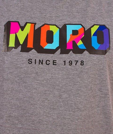 Moro Sport-Block T-Shirt Szary