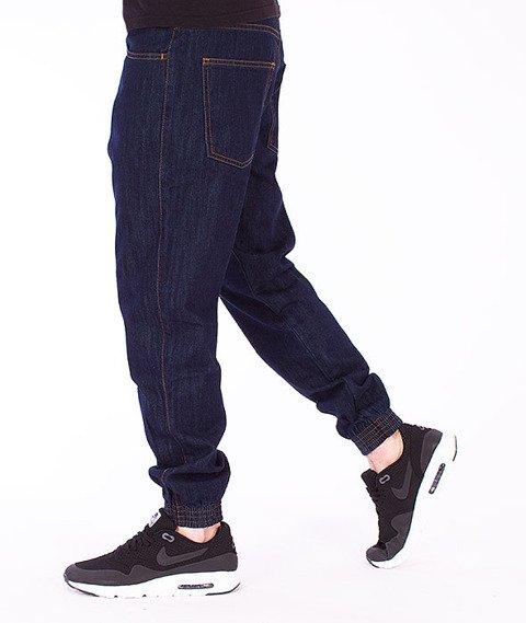 Moro Sport-Jogger Regular Spodnie Ciemny Jeans