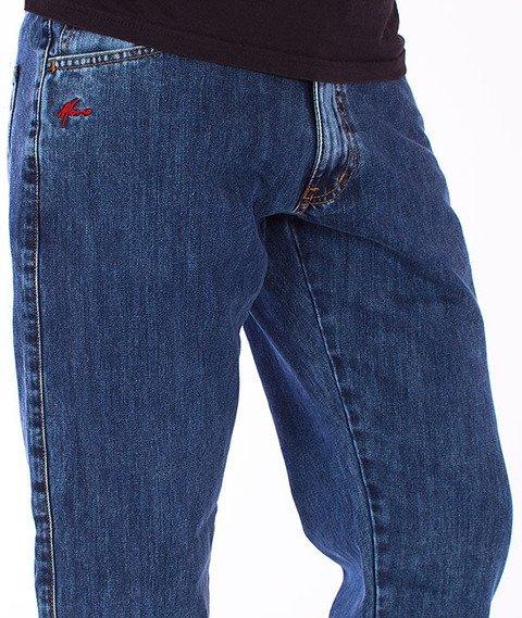 Moro Sport-Jogger Regular Spodnie Marmurkowy Jeans