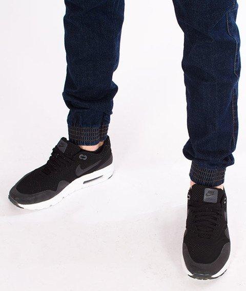 Moro Sport-Mini Slant Tag18 Jogger Spodnie Ciemne Pranie