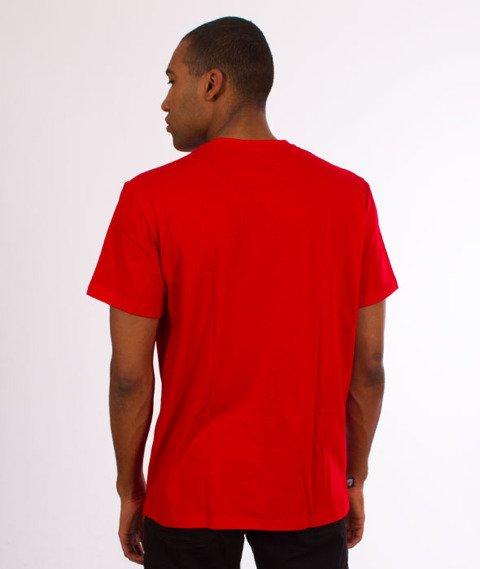 Moro Sport-Mini Slant Tag18 T-Shirt Czerwony