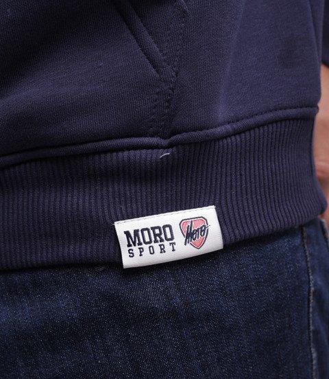 Moro Sport Paris Bluza z kapturem Granatowy