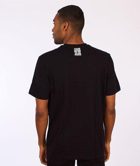 Moro Sport-Paris Camo T-Shirt Czarny