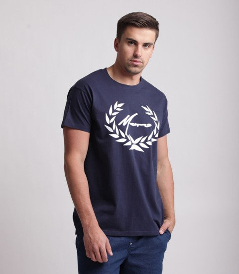 Moro Sport Paris Laur T-Shirt Granatowy