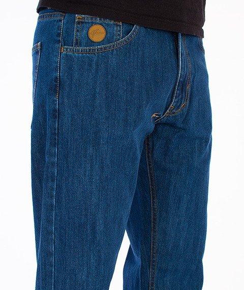 Moro Sport-Regular Label Spodnie Średni Jeans