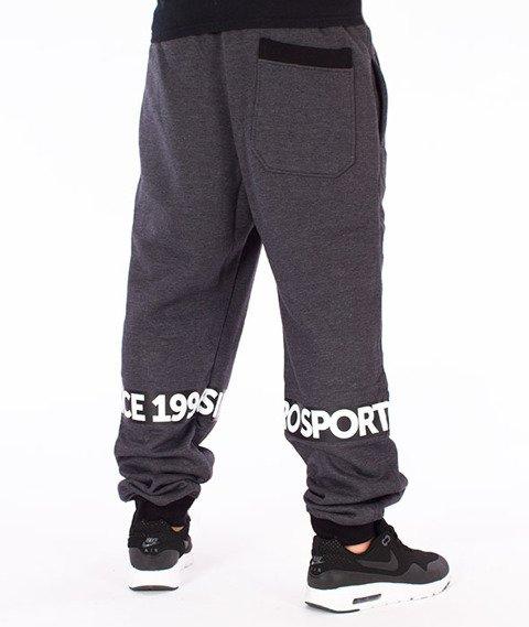 Moro Sport-Since 1998 Spodnie Dresowe Grafitowe