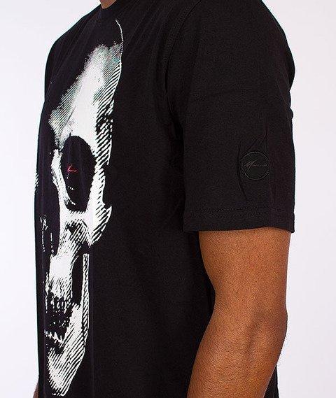 Moro Sport-Skull T-Shirt Czarny