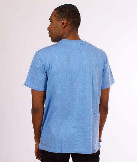 Moro Sport-Slant Tag18 T-Shirt Błękitny
