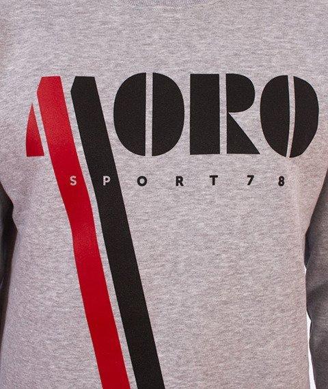 Moro Sport-Vintage Moro Bluza Szara